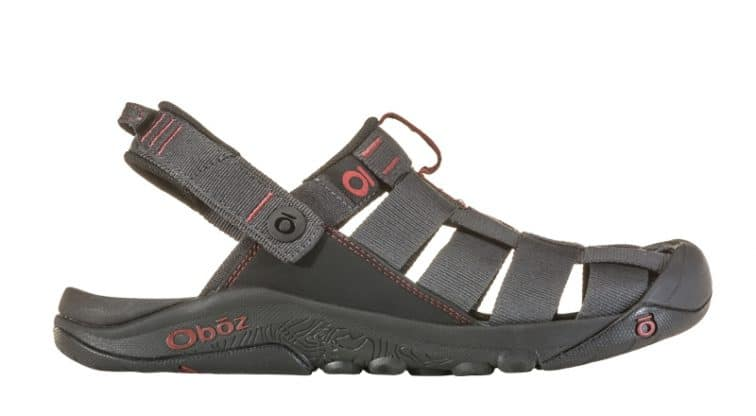 Oboz Campster travelling sandals