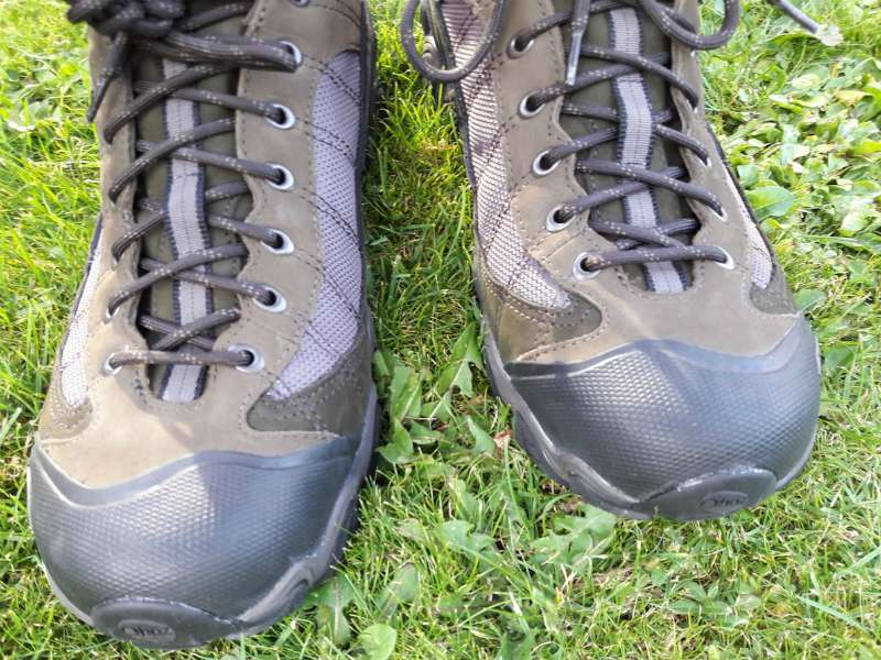 Oboz Firebrand II walking shoes for home page