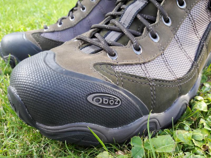 Oboz Firebrand II BDRY walking shoes - close up