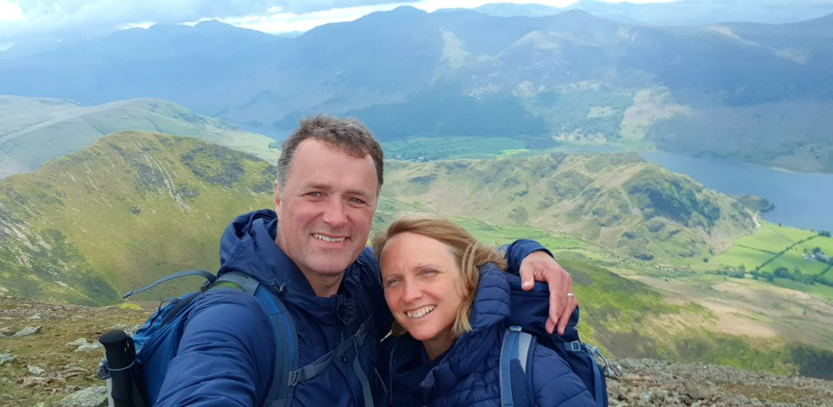 Will & Penny Hawkins in the Lake District